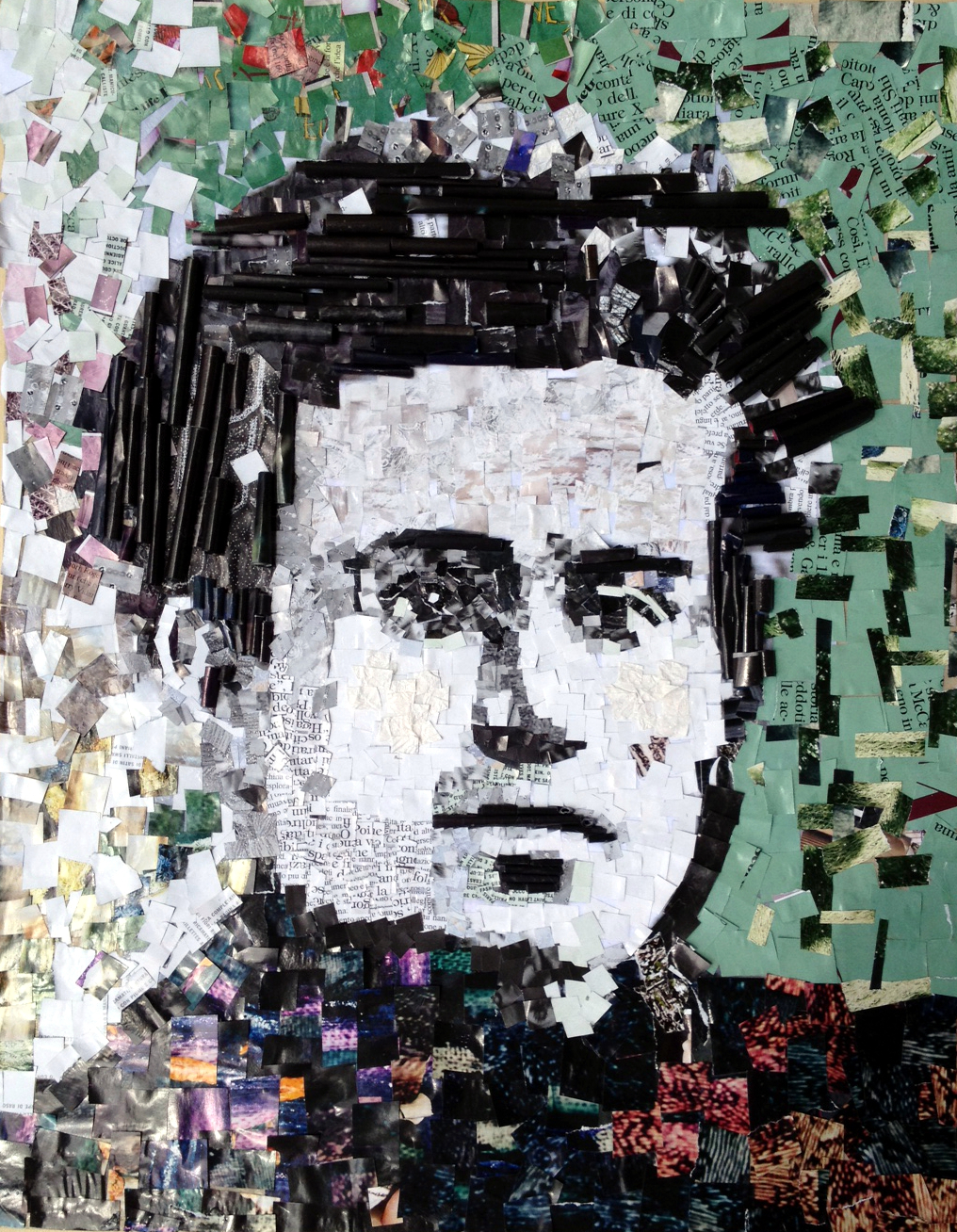 Casa Gramsci a Ghilarza-collages