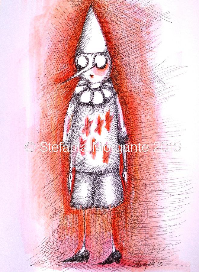 Pinocchio-da una illustrazione a un burattino di carta: Parte I