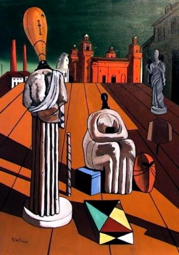 Le Muse Inquietanti-De Chirico e Sylvia Plath