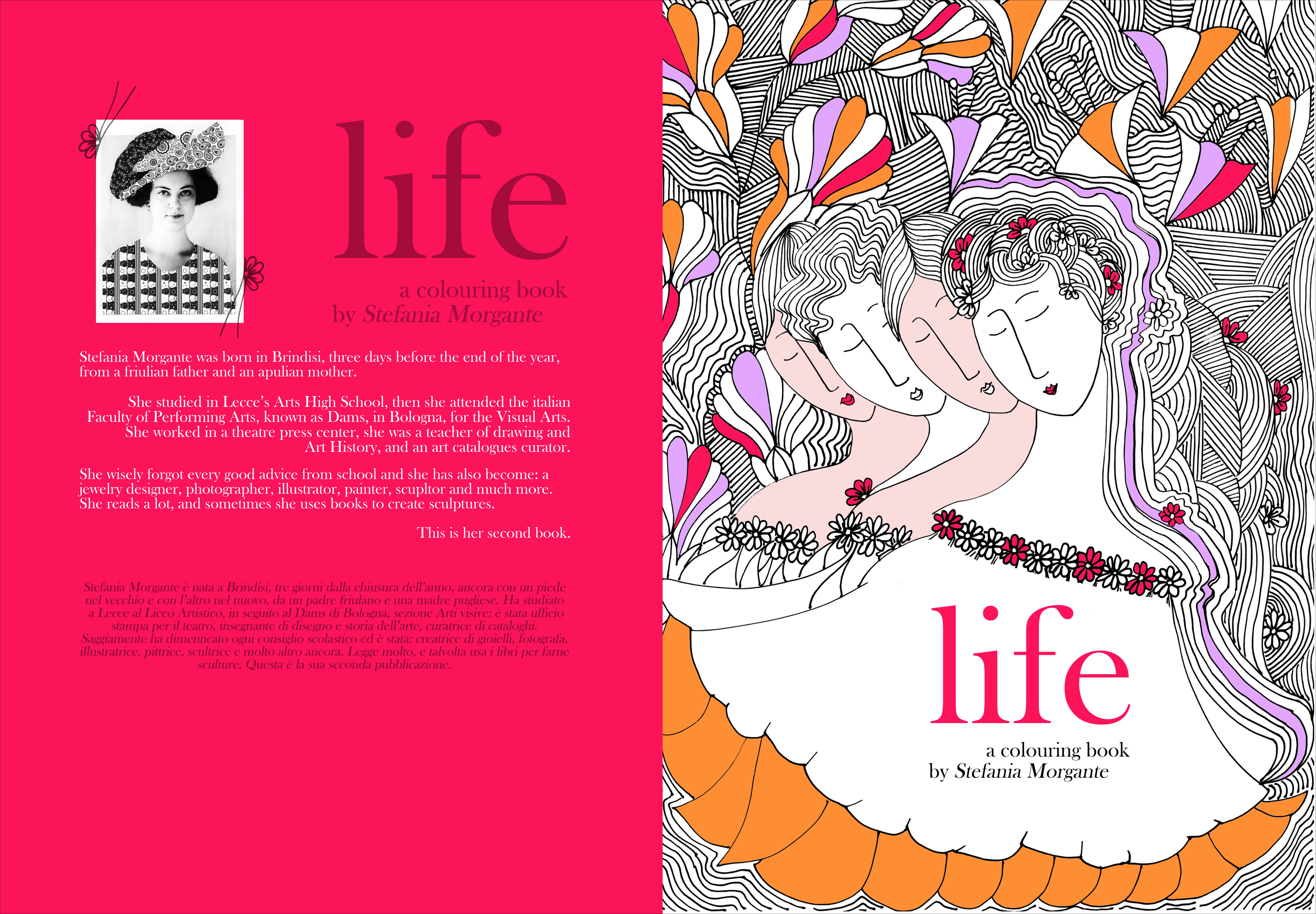 LIFE- my first coloring book.